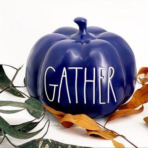 Rae Dunn GATHER Halloween Pumpkin 2020